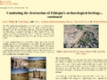 Combating the destruction of Ethiopia's archaeological heritage... continued